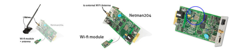Wifi dongle for Netman 204