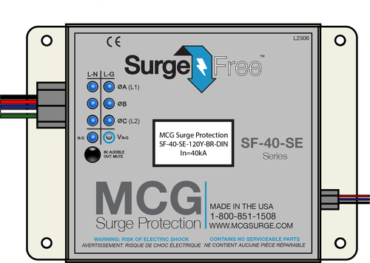 Phase surge protection